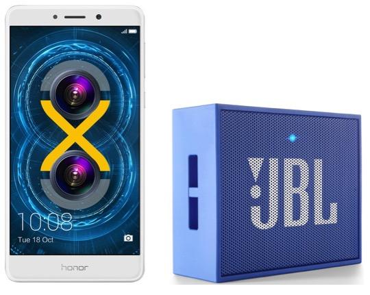 Code promo Darty : 1 smartphone Honor 6X acheté = 1 enceinte JBL offerte pour 1€ de plus
