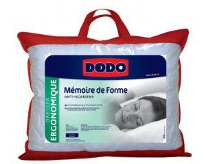 Conforama: Oreiller à mémoire de forme 40 X 60 cm DODO à 26,25€