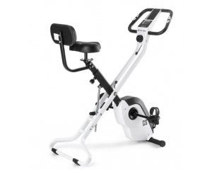 eBay: Vélo d'appartement pliable dossier pulsomètre inertie 4kg 8 niveaux à 149,99€