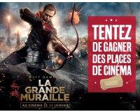 """BFMTV: 20 places de cinéma pour le film """"La Grande Muraille"""" à gagner"""
