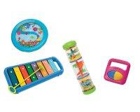 Woodbrass: L'ensemble d'instruments de musique d'éveil pour enfant à 31€ au lieu de 70,40€
