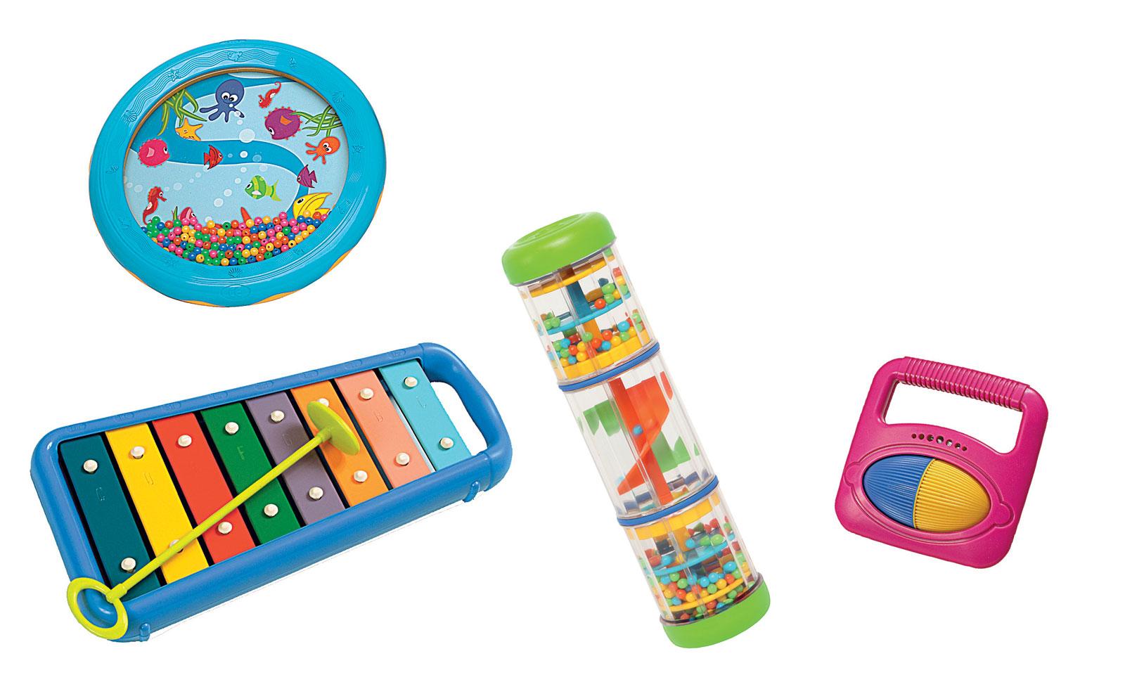 Code promo Woodbrass : L'ensemble d'instruments de musique d'éveil pour enfant à 31€ au lieu de 70,40€