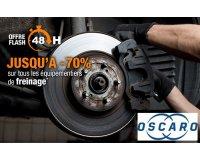Oscaro: 70% de rabais sur tous les équipements de freinage