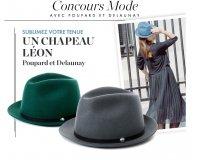 Elle: 6 chapeaux personnalisables Léon de Poupard et Delaunay à gagner