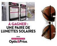 Minute Facile: 35 paires de lunettes solaires Optic&Price à gagner