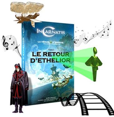 Code promo Minute Facile : 25 livres Incarnatis La Vénus d'Emerae Tome 1 à gagner