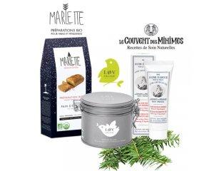 Le Couvent des Minimes: 10 x une préparation Bio Marlette, du thé Lov Organic et un baume à gagner