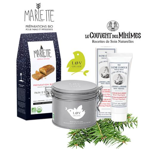 Code promo Le Couvent des Minimes : 10 x une préparation Bio Marlette, du thé Lov Organic et un baume à gagner