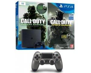 Micromania: 1 pack PS4 Slim 1To + 2 jeux Call of Duty acheté = 1 manette PS4 Acier offerte