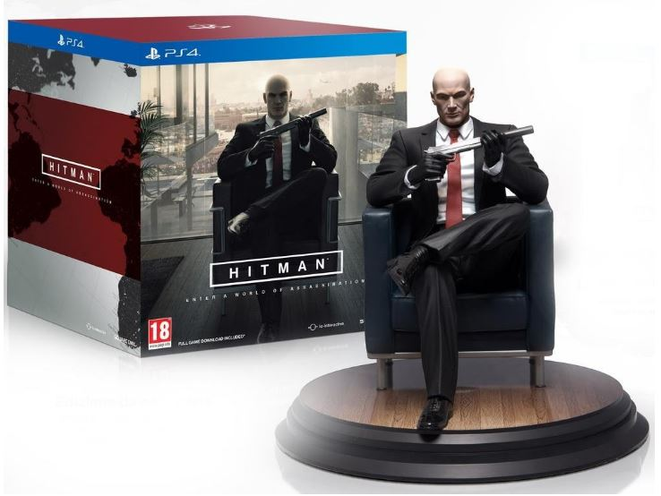 Code promo Amazon : Jeu PS4 Hitman - édition collector à 63,61€