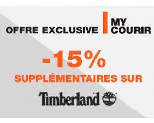 Courir: [Adhérents My Courir] - 15% en plus sur les chaussures Timberland soldées