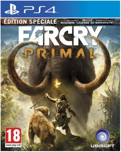 Code promo Amazon : Far Cry Primal Edition Spéciale sur PS4 à 19,99€