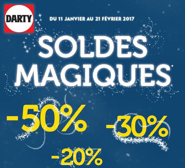 Code promo Darty : Soldes magiques : de nombreuses réductions sur une sélection d'articles