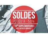 Bonobo Jeans: Soldes : jusqu'à -50% sur une sélection + -10% supplémentaires dès 2 articles