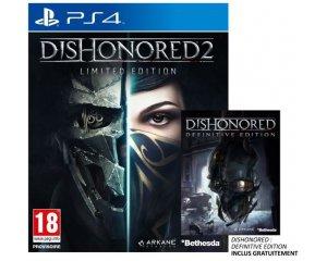 Cdiscount: Jeu Dishonored 2 Edition limitée sur PS4 à 25,49€
