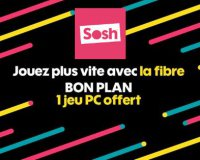 Sosh: Un jeu PC offert pour la souscription à un forfait Sosh Mobile + Livebox