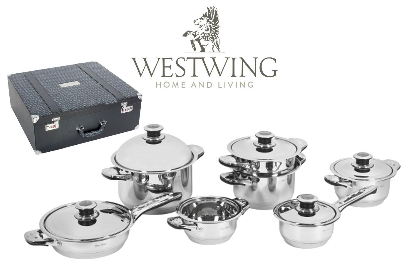 Code promo Westwing : La batterie de cuisine Gam'Hotel 12 pièces à 119€ au lieu de 515€