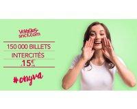 Voyages SNCF: 150000 billets Intercités à 15€