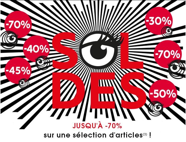 Code promo Sephora : Soldes : jusqu'à -70% sur une sélection d'articles