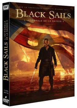 Code promo Ciné Média : Des DVD de la série Black Sails saison 3 à gagner