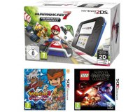 Cdiscount: Pack 2DS Bleue + Mario Kart 7 + Inamuza Eleven 3 + Lego Star Wars à 114,99€