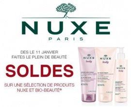 Nuxe: Soldes sur une sélection de produits Nuxe et Bio-Beauté