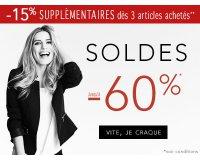 Jacqueline Riu: Soldes : jusqu'à -60% sur une sélection d'articles