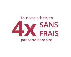 Boulanger: Vos achats en 4 X sans frais valable sur tout le site