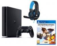 Fnac: 1 PS4 Slim achetés = 1 casque + le jeu Overwatch offerts