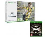 Cdiscount: Xbox One S 500 Go FIFA 17 + Batman Arkham Knight à 249,99€