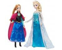 King Jouet: Coffret Collector Anna et Elsa Frozen (La Reine des Neiges) à 27,49€