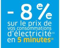 Happ'e: 8% de réduction sur le prix de vos consommations d'électricité en 5 minutes