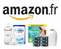 Amazon: Promotion Quinzaine de bébé: - 20% dès 30€ d'achats