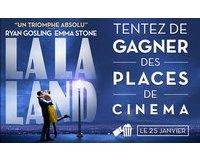 """M6: 30 lots de 2 places de cinéma pour le film """"La la land"""" à gagner"""