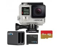 Fnac: GoPro HERO4 Silver + Carte MicroSD + Chargeur batterie double à 369,99€