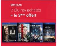Fnac: 2 Blu-Ray achétés = le 3e offert parmi une sélection de plus de 300 films
