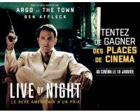 """Le Figaro: 1 voyage à Tampa pour 2 personnes et 20 places pour le film """"live by night"""""""