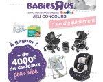 ToysRUs: 1 an d'équipement pour bébé (+ de 4000€ de cadeaux) à gagner
