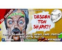 Speedway: Design et tente de remporter ton casque moto Shark Spartan personnalisé