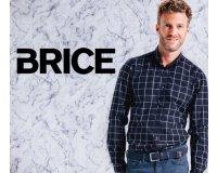 Brice: - 15% supplémentaires dès 2 chemises soldées achetées