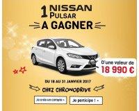 Chronodrive: 1 voiture Nissan PULSAR DIG-T 115 VISIA à gagner
