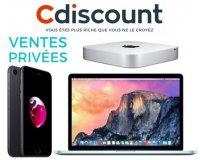 Cdiscount: 10% de remise sur tous les produits Apple (iPad Pro, iPhone 7, MacBook Air...)