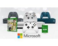 Microsoft Store: Pack Xbox One S 500Go + FIFA 17 + 2ème manette + 3 mois au Xbox Live Gold à 279€