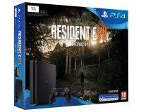 Cdiscount: PS4 Slim 1 To + jeu Resident Evil 7 (Jeu compatible PSVR) à 349,99€