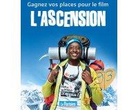 """Le Parisien: 15 lots de 2 places de cinéma pour le film """"L'ascension"""" à gagner"""