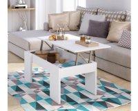 Cdiscount: Table basse avec plateau relevable 100 x 50 cm à 39,99€