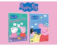 Femme Actuelle: 50 lots des 2 nouveaux volunes DVD de Peppa pig à gagner