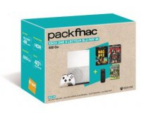 Fnac: Xbox One S 500Go + 2 films Blu-ray 4k + 1 Télécommande + Minecraft à 299,9€