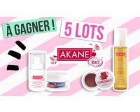 Rose Carpet: 5 lots de produits cosmétiques Akane à gagner