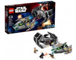Amazon: LEGO Star Wars Tie Advanced de Dark Vador contre l'A-Wing Starfighter à 64,99€